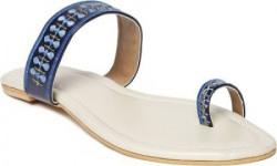 Anouk Women Navy Blue Flats