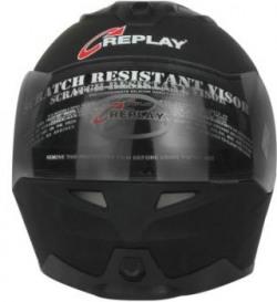 Replay Dream Plain Fl Motorbike Helmet