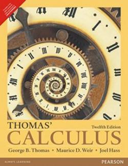 Thomas Calculus 12e