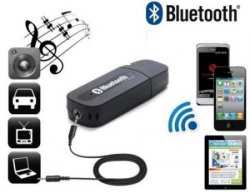Wireless USB Bluetooth Receiver Adapter Dongle For Home Car Speakers MP3