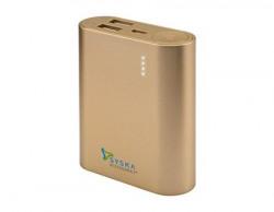 Syska Power Bar 100 10050mAH Power Bank (Gold)
