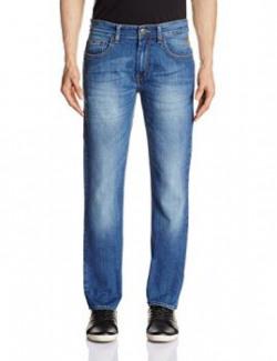 Flying Machine Men's Prince Slim Fit Jeans (8903952898652_FMJC0206_38_Blue)