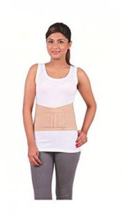Orthowala LS Support Belt (MEDIUM) Back Support Pain Reliever Enhance Back Posture - Size 32-36 Inches
