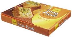 Chandu Halwai Soan Papdi, Orange, 400 grams