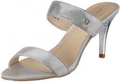 Addons Women's Silver Fashion Sandals - 5 UK/India (38 EU)