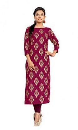 Ziyaa Women's Crepe Kurti  starting from 449/-