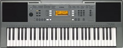 Yamaha PSR-E353, 61 Keys Portable Keyboard with Adaptor, Grey