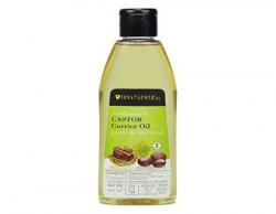 Soulflower Coldpressed Castor Carrier Oil, 225ml