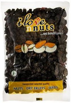 I Love Nuts Raisins (Kismis) Black, 200g