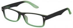Faddish Full Rim Rectangular Unisex Spectacle Frame (BO50BGRTRT 50 Transparent)