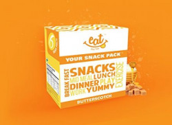 Eatanytime Butterscotch Bars - 240 g (Pack of 6)