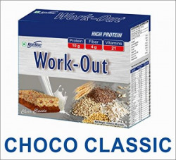 RiteBite Work Out Choco Classic High Protein Bar - Pack of 3