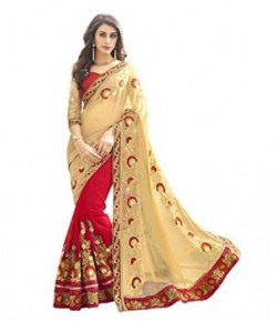 Sareeshop Georgette Saree (Priya_001_Maroon)