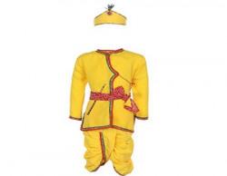 AJ Dezines Kids Krishna Dress For Baby Boy (KRISHNA DRESS_3)