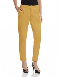 United Colors Of Benetton Women's Straight Pants (16P4TN1E9282I_GoldW37_40)