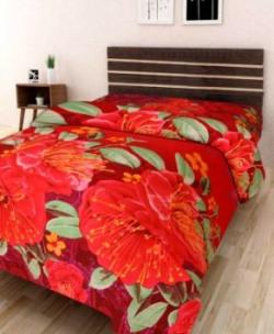IWS Polycotton 3D Printed Single Bedsheet at Just 149
