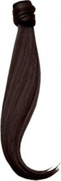BigWave wrap around Pony Tail natural brown color Hair extension 24 inch