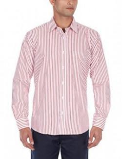 Excalibur Men's Formal Shirt (8903600643238_39_Red)