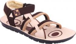 World Wear Footwear Men Brown Sandals