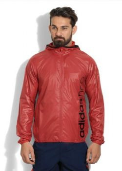 Adidas Full Sleeve Solid Men's Sports Jacket Jacket