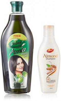 Himalaya Herbals Gentle Daily Care Protein Shampoo, 450ml with Free Dabur Almond Shampoo, 100ml (Worth Rupees 69)