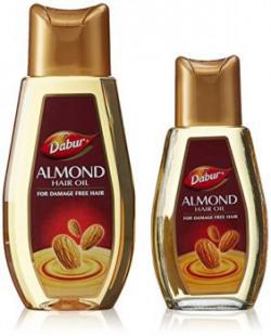 Dabur Almond Hair Oil, 500ml with Free Almond Hair Oil, 200 ml (Worth Rupees 115)