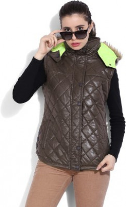 Fort Collins Sleeveless Solid Women's Quilted Jacket