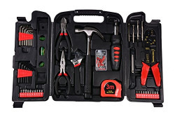 Visko Household Hand Tool Set (129 Pieces)