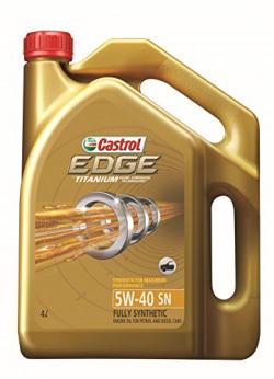 Castrol 3384510 EDGE Ti 5W-40 Car Engine Oil (4 L)