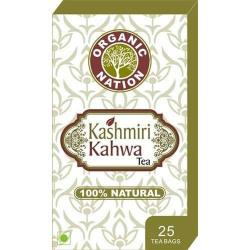 Organic Nation Kashmiri Kahwa 25 Tea Bags