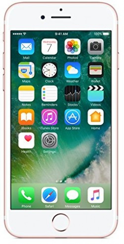 Apple iPhone 7 (Rose Gold, 256GB)