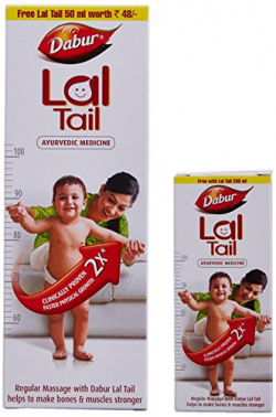 Dabur Lal Tail (200ml) with Free Lal Tail (50ml)