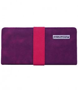 fantosy women wallet (Purple and Pink) (FNWC-161)