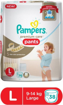 Pampers Pampers Premium Care Pants Diapers - L