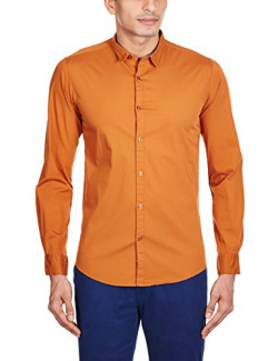 Pepe Jeans Men's Casual Shirt (8903872605187_TAKODA LS_X-Large_Rust)