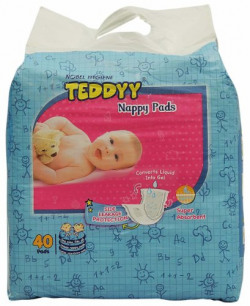 Teddyy Nappy Pads (40 Count)