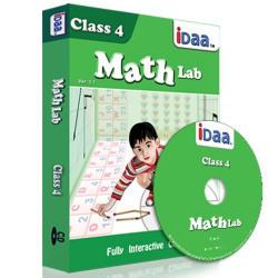 Idaa Class 4 Math Activity Educational CBSE (CD)