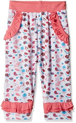 Donuts Baby Girls Joggers (267622757_White_06M)