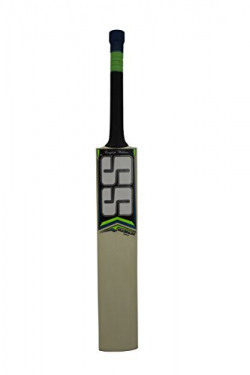 SS Magnum English Willow Cricket Bat, Size 1 (Color may vary)