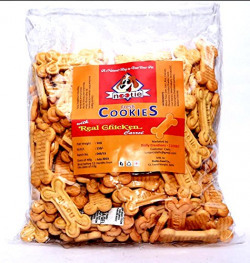 Nootie Real Chicken and Carrot Flavor Cookie- 1 Kg Pack