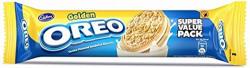 Cadbury Golden Oreo Biscuits, Vanilla Crème, 150g