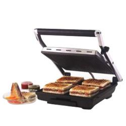 Borosil Super Jumbo Grill Sandwich Maker 2000W,BGRILLSS23