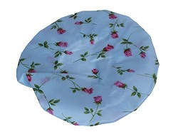Good Quality Reusable Elastic Shower Cap for Home Use, Salons, Spas & Beauty Parlors – Free-Size Cap for Adults & Children