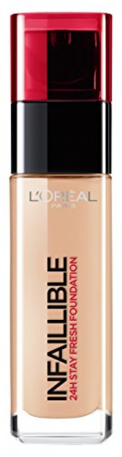 L'Oreal Paris Infallible 24Hr Liquid Foundation, Rose Beige 145, 30ml