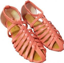 Fashionitz Women Peach Flats