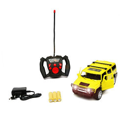 Wembley Racer RC Rechargeable 1:16 Hummer S172 SUV (YELLOW)
