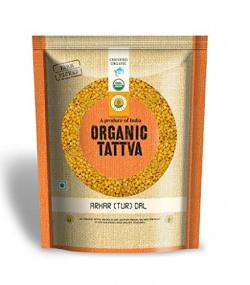Organic Tattva Arhar (Tur) Dal, 500g