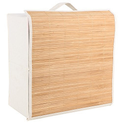 Miamour Bamboo Storage Organizer, White