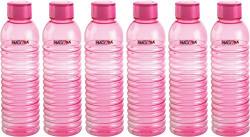 Nayasa Groove PET Fridge Bottle, Set of 6, Pink