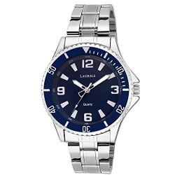 Laurels Blue Dial Invicta Day n Date Men's Watch (Lo-IVA-030707)